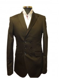 Claudio Lugli Jury - Double Breasted Jacket In Black