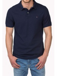 "Hilfiger Denim ""Pilot"" Classic Polo Shirt In Navy"