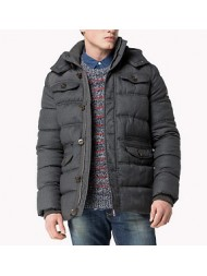 "Hilfiger Denim ""Johnny"" Quilted Hooded Jacket"