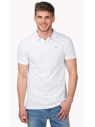 "Hilfiger Denim ""Pilot"" Classic Polo Shirt In White"