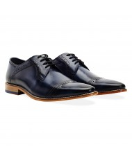 Goodwin Smith Langho Navy Derby Shoe
