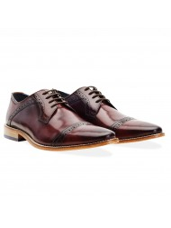 Goodwin Smith Langho Burgundy Derby Shoe