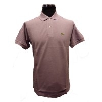 Lacoste Classic Fit Pique Polo In Lilac - L12.64- Rasin Chine