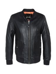 Schott N.Y.C. Black Leather Jacket - LC6304X