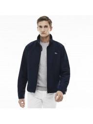 Lacoste men's hooded zippered jacket in navy nylon - BH2331 00 166