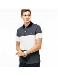 Lacoste Regular Fit Texturized Colorblock Piqué Polo - PH2068 00 FUJ