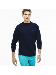 Lacoste Men's Cotton Fleece Sweatshirt In Navy - SH1926-00