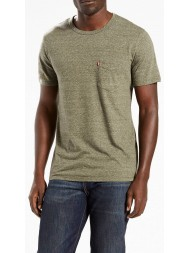 Levi's Sunset Pocket Tee In Olive - Style # 157980101