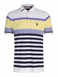 """Luke """"Carnoustie 2"""" Multi stripe polo shirt - Style M371456"""