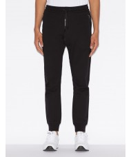 Armani Exchange Black Track Suit Bottoms - 8NZP73 ZJZ1Z