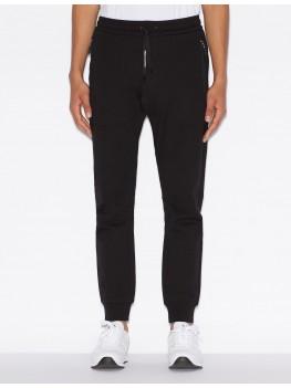 Armani Exchange Black Track Suit Bottoms - 8NZP73 ZJZ1Z