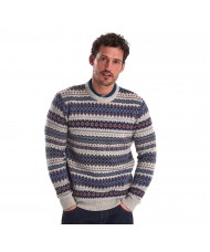 Barbour Lambswool Fairisle Crew Neck Sweater  MKN1027BE71