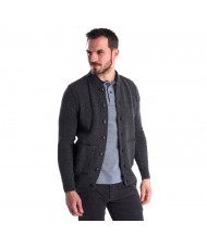 Barbour Witton Button Thru Cardigan In Dark Grey - MKN1194GY33