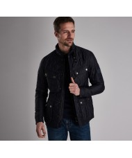 Barbour International Ariel Quilt Jacket In Navy Blue - MQU0251NY91