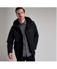 Barbour International Endo Waterproof Breathable Jacket In Black- MWB0638BK11