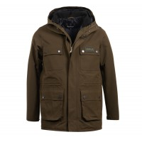 Barbour International Endo Waterproof Breathable Jacket In Olive - MWB0638OL71
