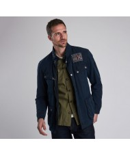 Barbour International Steve McQueen Lester Washed Cotton Waxed Jacket - MWX1572NY51
