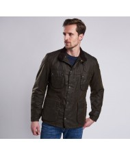 Barbour International Weir Wax Jacket In Olive Green - MWX1229OL51