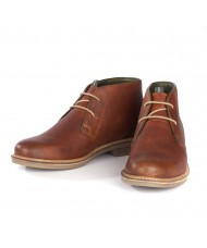 Barbour Redhead Chukka Boots In Cognac MFO0138TA52