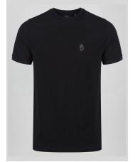 Luke 1977 Master Clarke Short Sleeve Crew Neck T-shirt In Black- ZM470101
