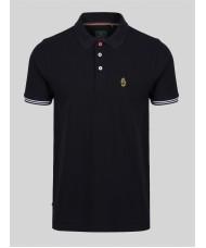 Luke New Mead Polo Shirt In Black - ZM451457