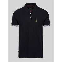 Luke New Mead Polo Shirt In Black - ZM451457