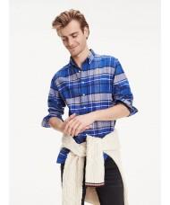 Tommy Hilfiger Regular Fit Tartan Plaid Checked Shirt - MWOMW10690