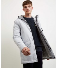 Lyle and Scott Technical Parka In Light Silver - JK1113V