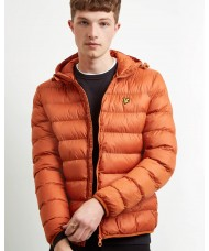 Lyle and Scott Lightweight Puffer Jacket In Tobacco - JK818V