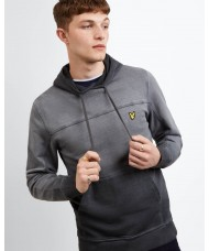 Lyle & Scott Ink Washed Hoodie - ML1115V