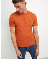 Lyle & Scott Crew Neck T-Shirt In Tobacco - TS400V