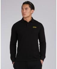 Barbour International Long Sleeved Polo Shirt In Black - MML0943BK31