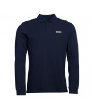 Barbour International Long Sleeved Polo Shirt In Navy Blue - MML0943NY39