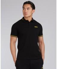 Barbour International Short Sleeved Polo Shirt In Black - MML0975BK31
