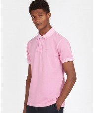 Barbour Washed Sports Polo Shirt In Mauve - MML1127PI31
