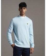 Lyle & Scott Cotton Sweatshirt In Deck Blue - ML424VTR