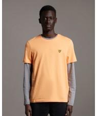 Lyle & Scott Crew Neck T-Shirt In Melon - TS400V