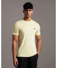 Lyle & Scott Crew Neck T-Shirt In Lemon - TS400V