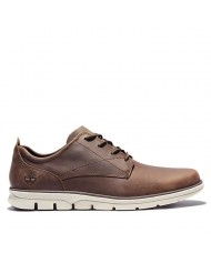 Timberland  Men's Bradstreet Sneaker In Dark Brown Full Grain Leather -  TB 0A2A3PV13