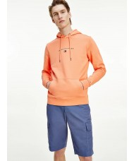 Tommy Hilfiger Essential Organic Cotton Terry Hoody In Summer Sunset - Style MW0MW17382