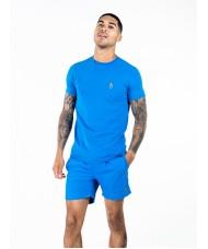 Luke Sport Super Crew Neck T Shirt In Belize Blue - M540150