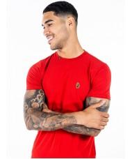 Luke Sport Super Crew Neck T Shirt In Tech Red - M540150