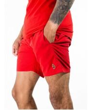 """Luke Sport  """"Great"""" Swim Shorts In Tech Red - M541011"""