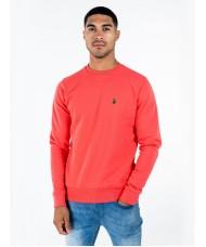 """Luke Sport """"London"""" Crew Neck Sweatshirt In Pink - M560350"""