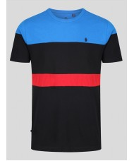 Luke Toto Archive T Shirt  In Jet Black Mix - M590160