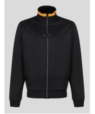 Luke Bentnose Archive Funnel Neck Full Zip Jacket In Jet Black - M590361