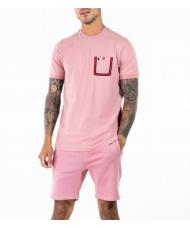 Luke Dr Dolittle Crew Neck T Shirt In Pink - M560101