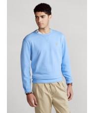 Polo Ralph Lauren Cabin Fleece Sweatshirt In Blue Lagoon