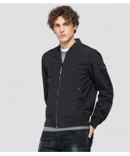 Replay navy blue jacket in recycled nylon M8150 .000.84048