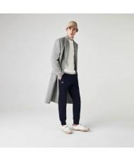 Lacoste Sport Cotton Blend Fleece Tennis Sweatpants In Navy Blue - XH9507 00 166